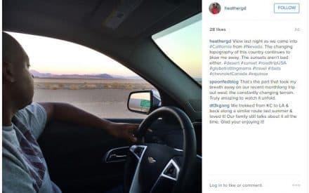 Nevada to California
