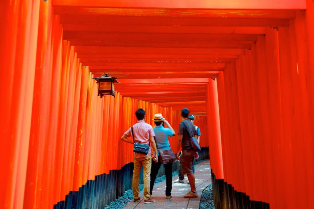 fushimi inari shrine kyoto highlights