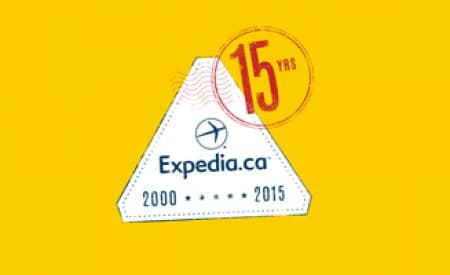 Wow, time flies – Expedia.ca is 15 this year!