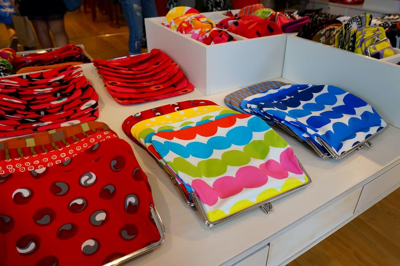Shopping at Marimekko in Helsinki