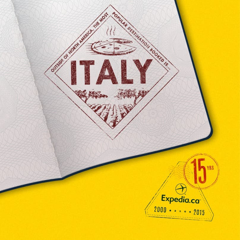 15th Anniversary Stamp Italy