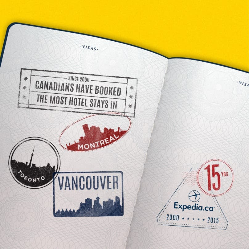 15th Anniversary Stamp TOVANMTL