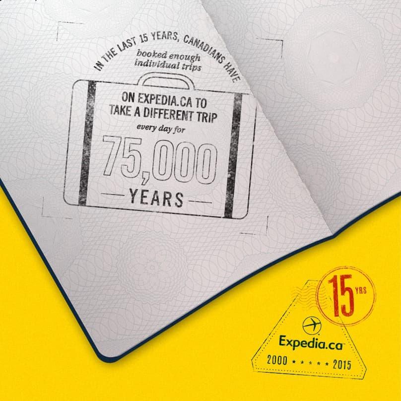 15th Anniversary Stamp Trips