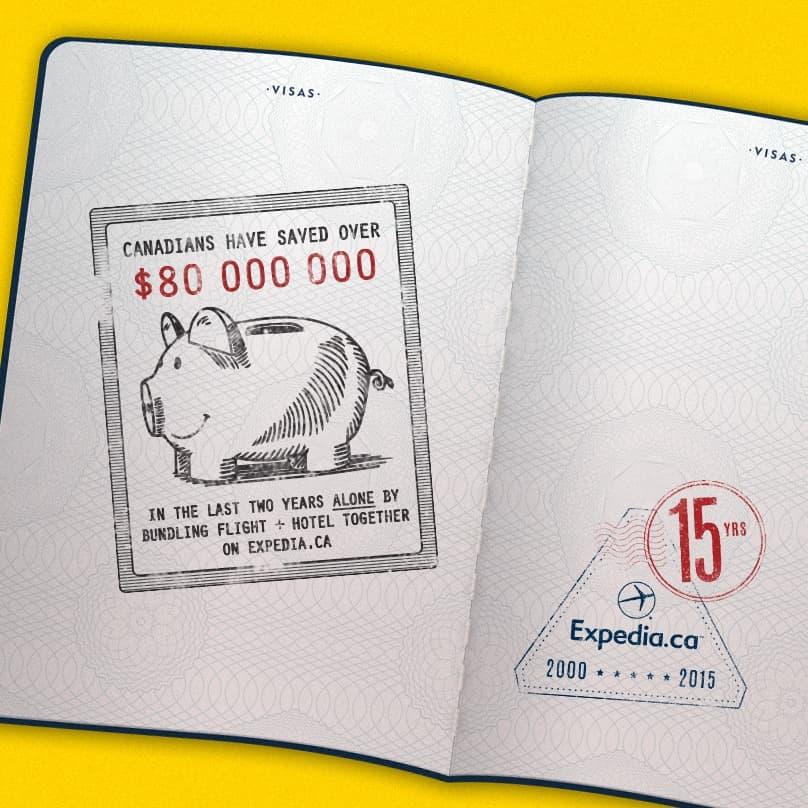 15th Anniversary Stamp Savings