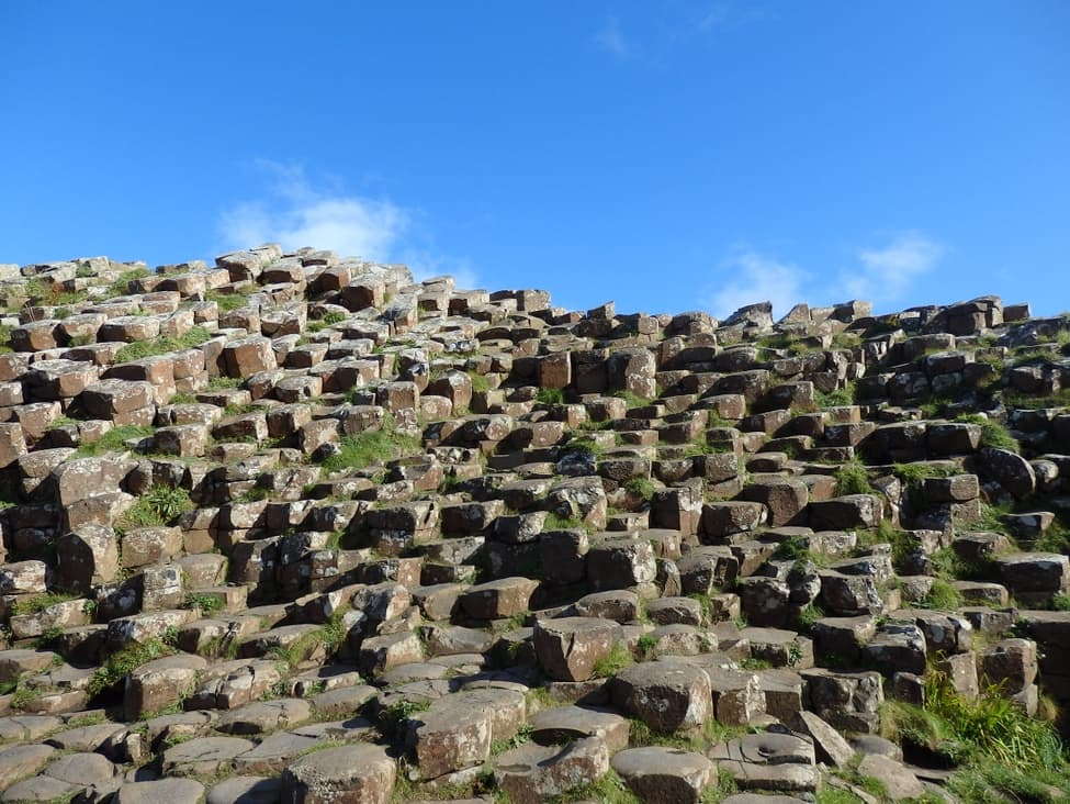 Basalt columns in Giant's Causeway