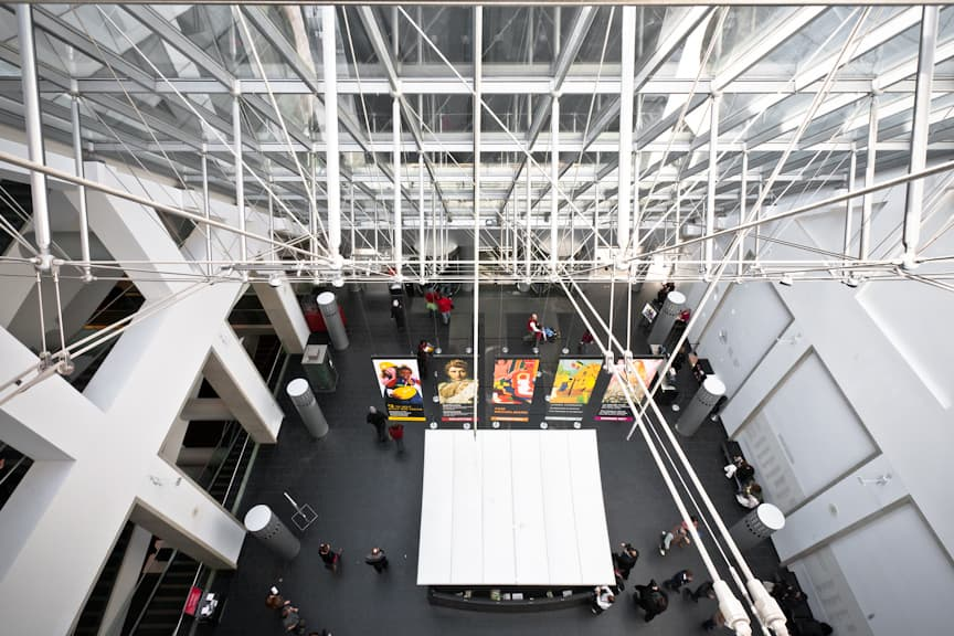 """Photo attribution: """"Montreal Museum of Fine Arts - Desmarais Pavilion"""" by Andrew Louis (Hyfen (talk)) - self-made. Licensed under CC BY 3.0 via Wikipedia"""