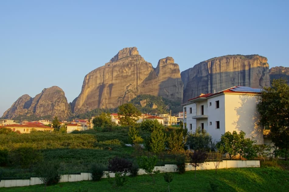 Views from Divani Meteora Hotel, Greece