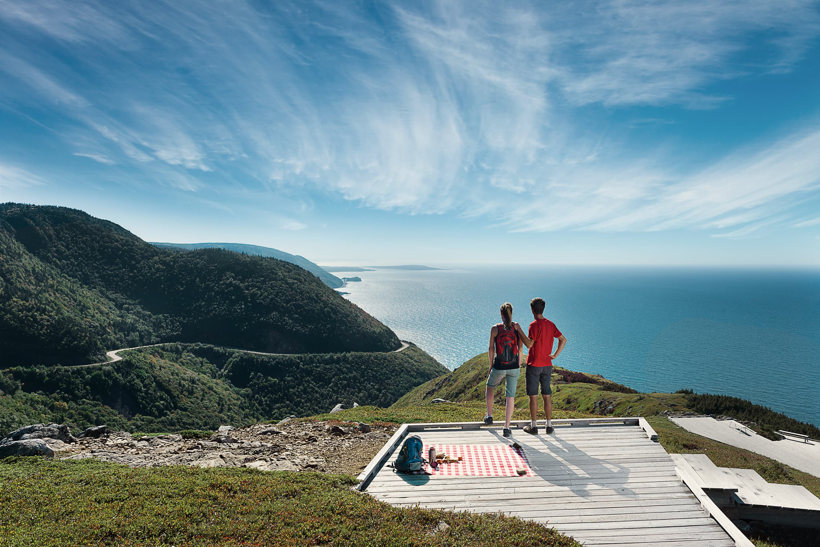Cabot Trail, NS - image