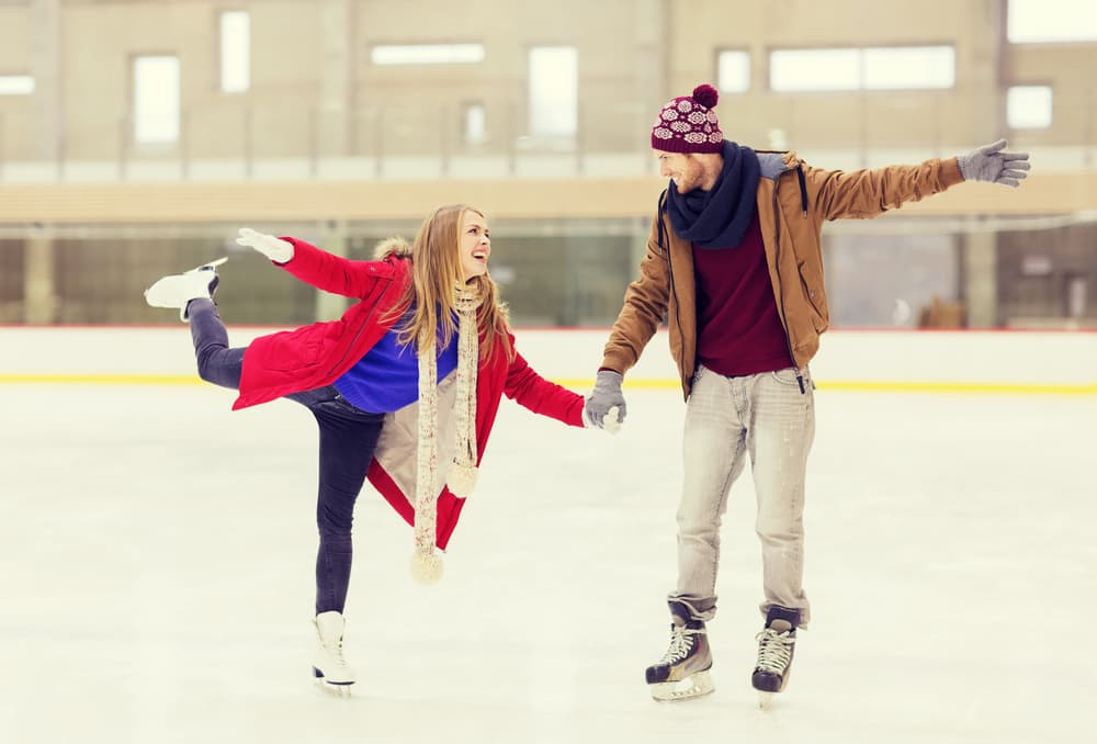 Couple Iceskating