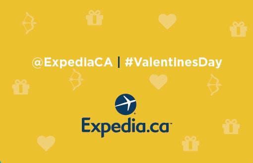 Expedia.ca Valentine's Day