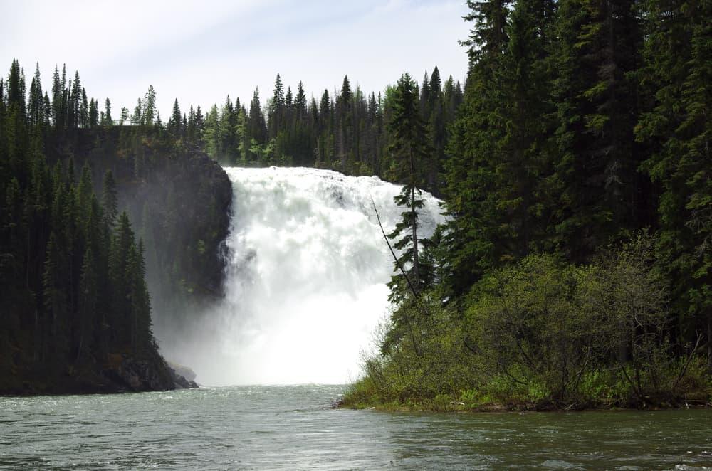 Tumbler Ridge - Kinuseo Falls