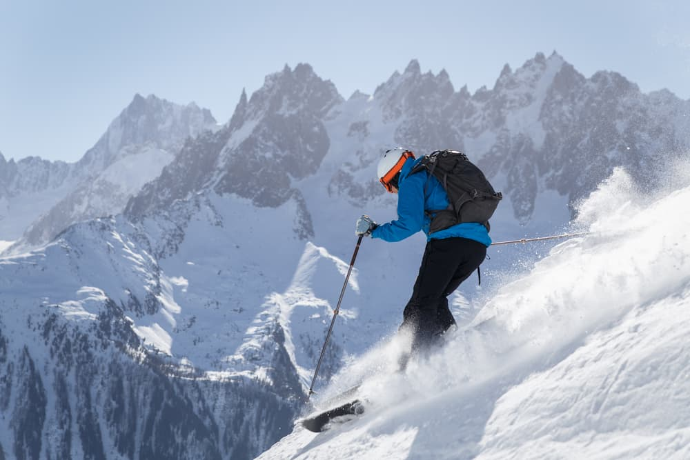 Chamonix France skiing