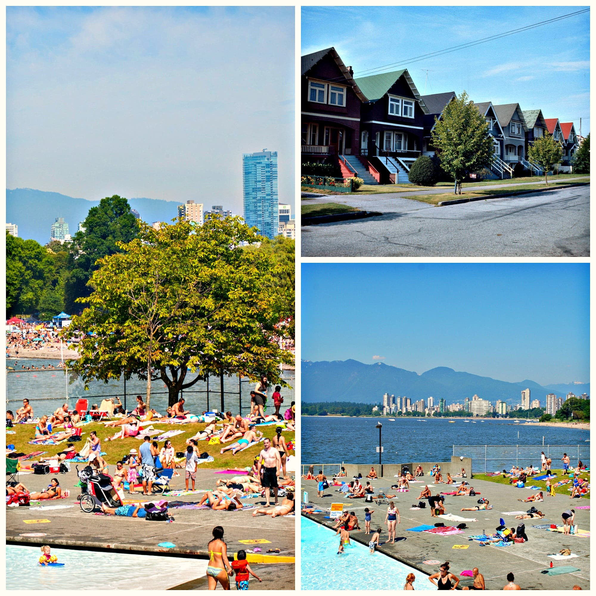 Kitsilano Collage