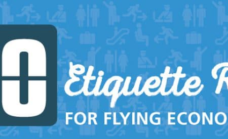 10 etiquette rules for flying economy class [Infographic]