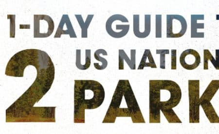 A 1-day guide to 12 US National Parks [Infographic]