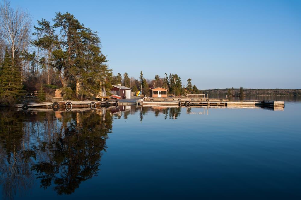Lake in Kenora Ontario