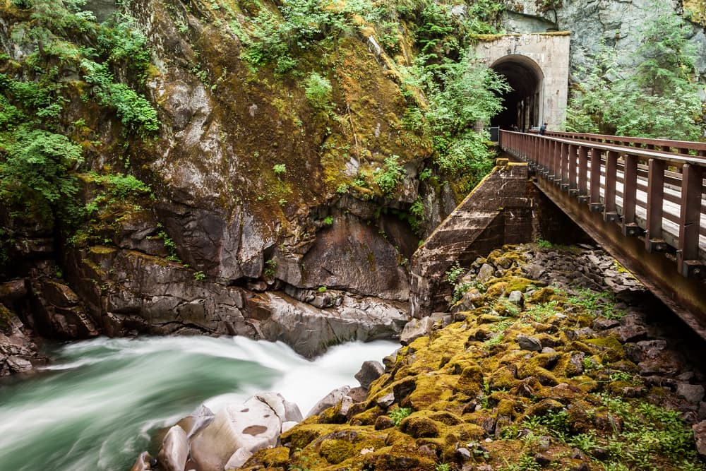 Othello Tunnels of Coquihalla Canyon Provincial Park