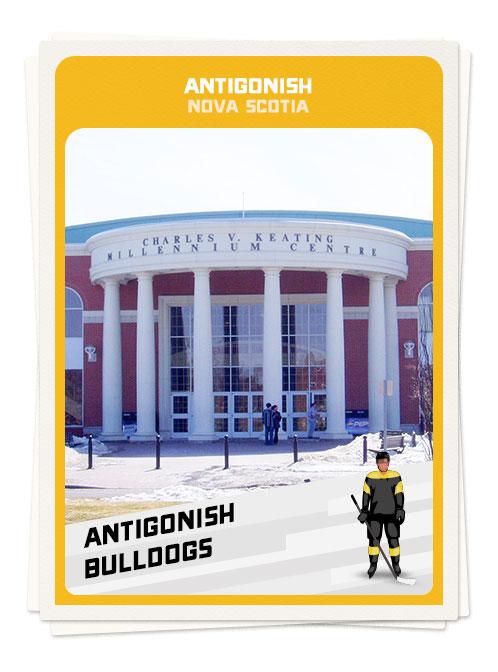 Hockey in Antigonish, Nova Scotia, one of hockey's top destinations