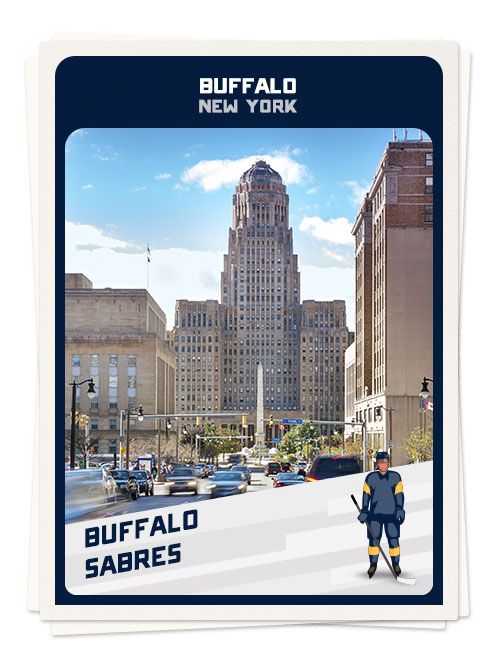 Buffalo, New York, one of the best hockey towns in North America