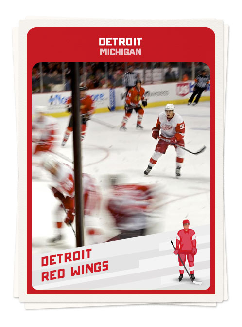 Ice hockey in Detroit, Michigan, one of the top North American hockey towns