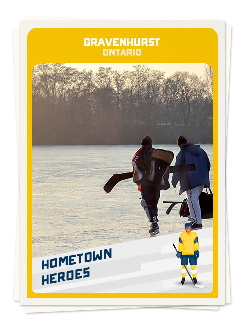 Hockey in Gravenhurst, Ontario, one of the best hockey towns in Canada