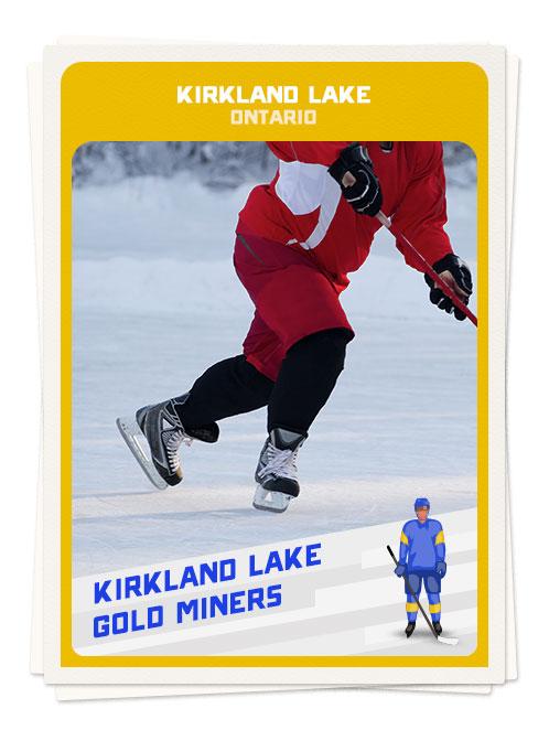Hockey in Kirkland, Ontario, one of the best hockey destinations in Canada
