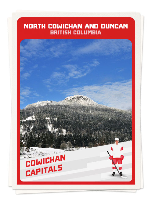 Hockey in North Cowichan and Duncan in British Columbia