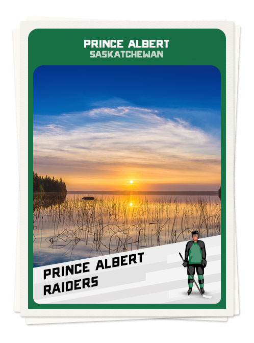 Scenic Prince Albert, Saskatchewan, one of the best hockey towns in Canada