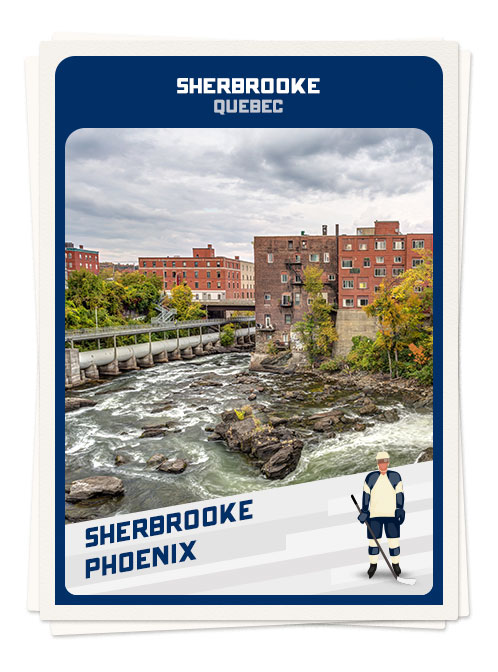Sherbrooke, Quebec, one of the best hockey destinations in Canada