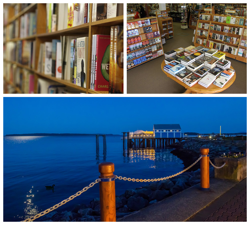 Books and sights from Sidney, BC, a top cozy destination in Canada