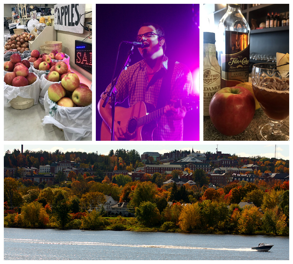 Drinks and live music in Fredericton, New Brunswick, a top cozy city in Canada