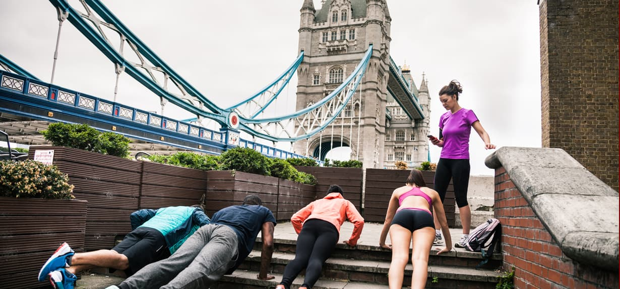 A London Fitness Break Itinerary