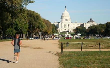 Turning Washington's National Mall into D.C.'s Best Gym: A 5-Mile Running Circuit in the Capitol