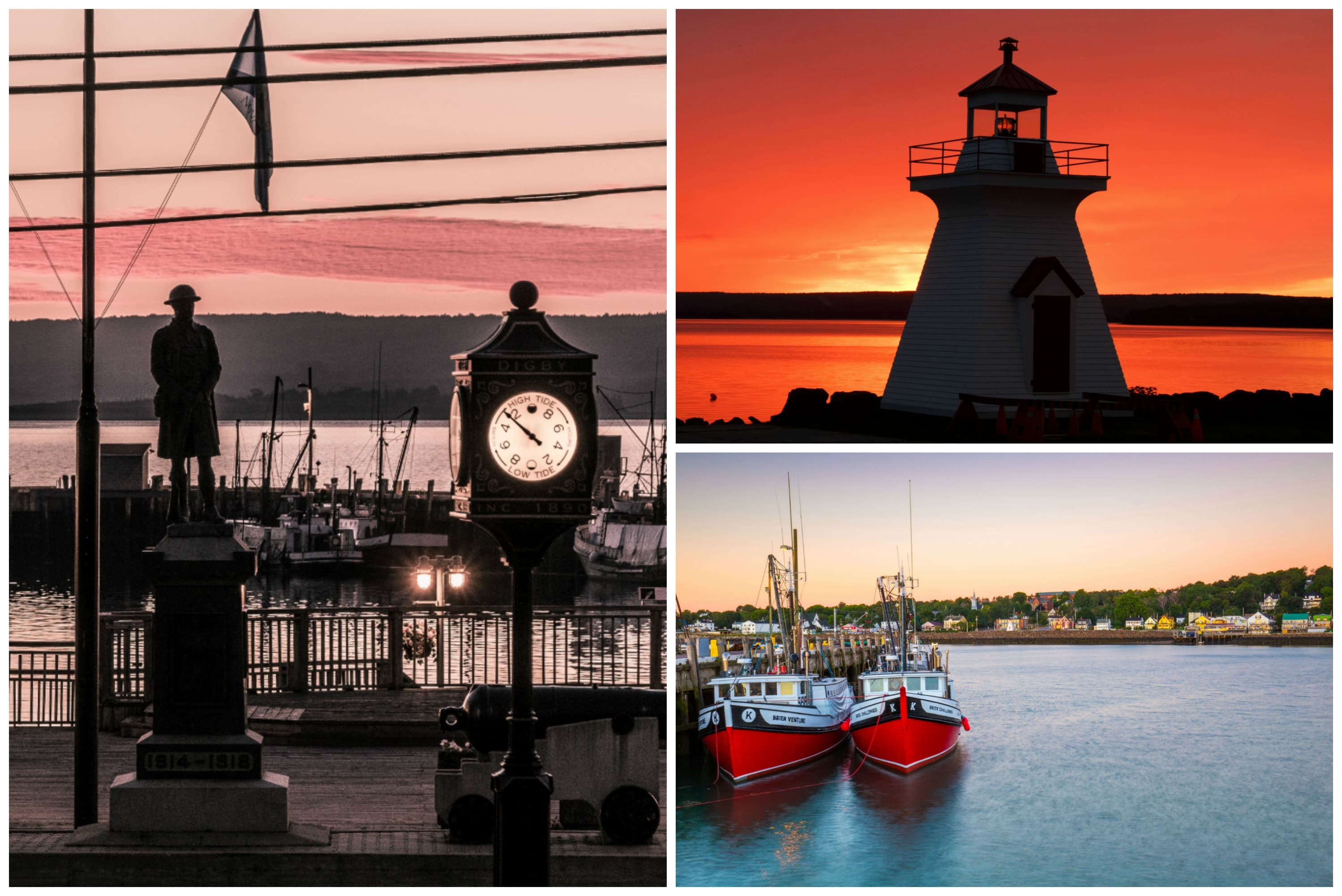 Digby, Nova Scotia, a top historic town in Canada