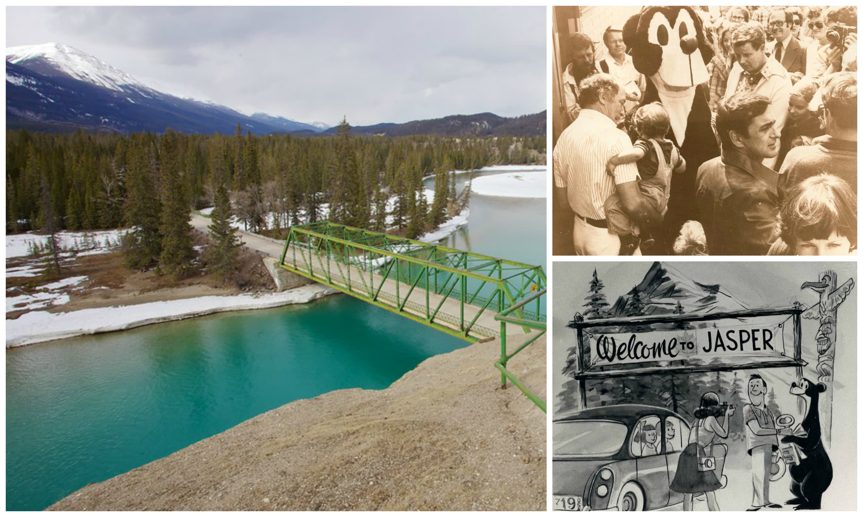 Jasper, Alberta, a top historic town in Canada