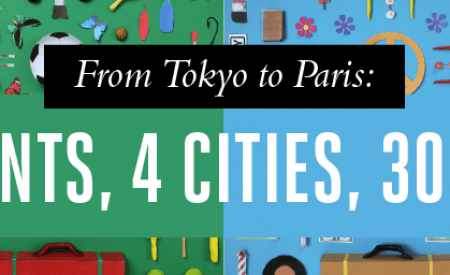 From Tokyo to Paris: 4 Continents, 4 cities, 300 objects [Infographic]