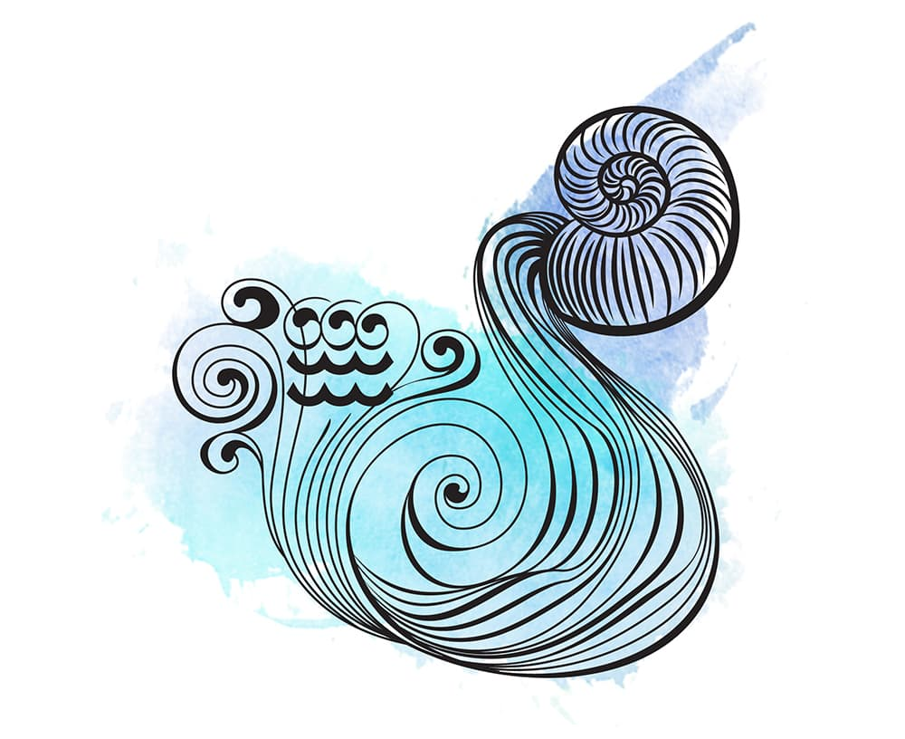 Zodiac signs 24 of the best places to travel based on your sign aquarius symbol water bearer biocorpaavc Choice Image