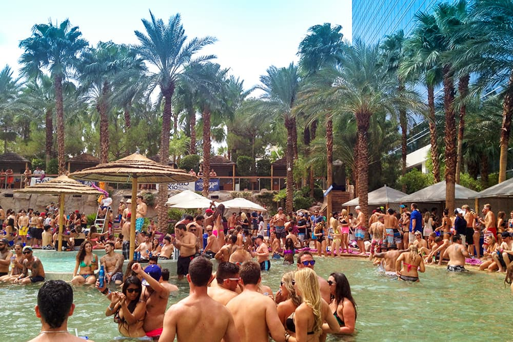 Las Vegas Hard Rock pool party
