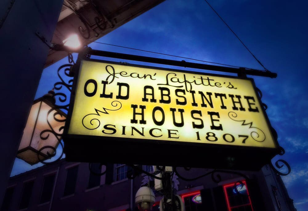 New Orleans old Absinthe house