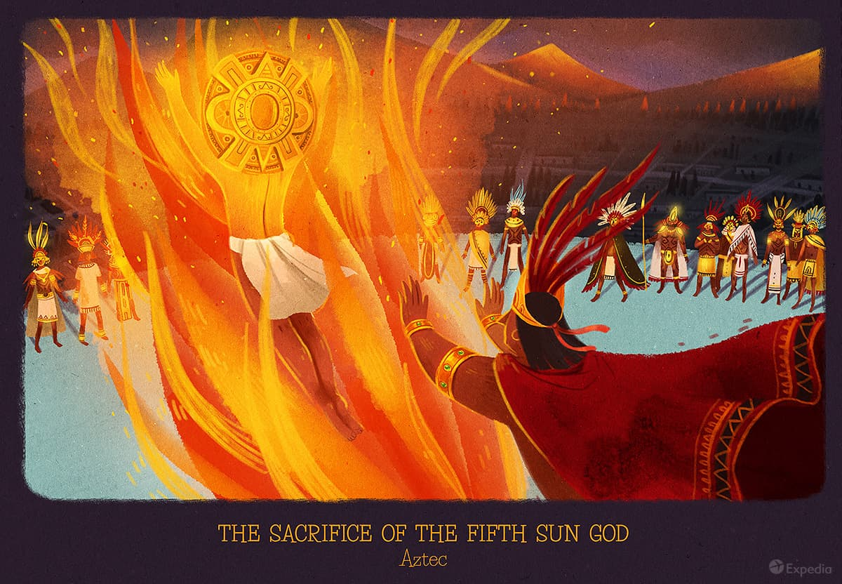 How Aztecs worshipped the sun
