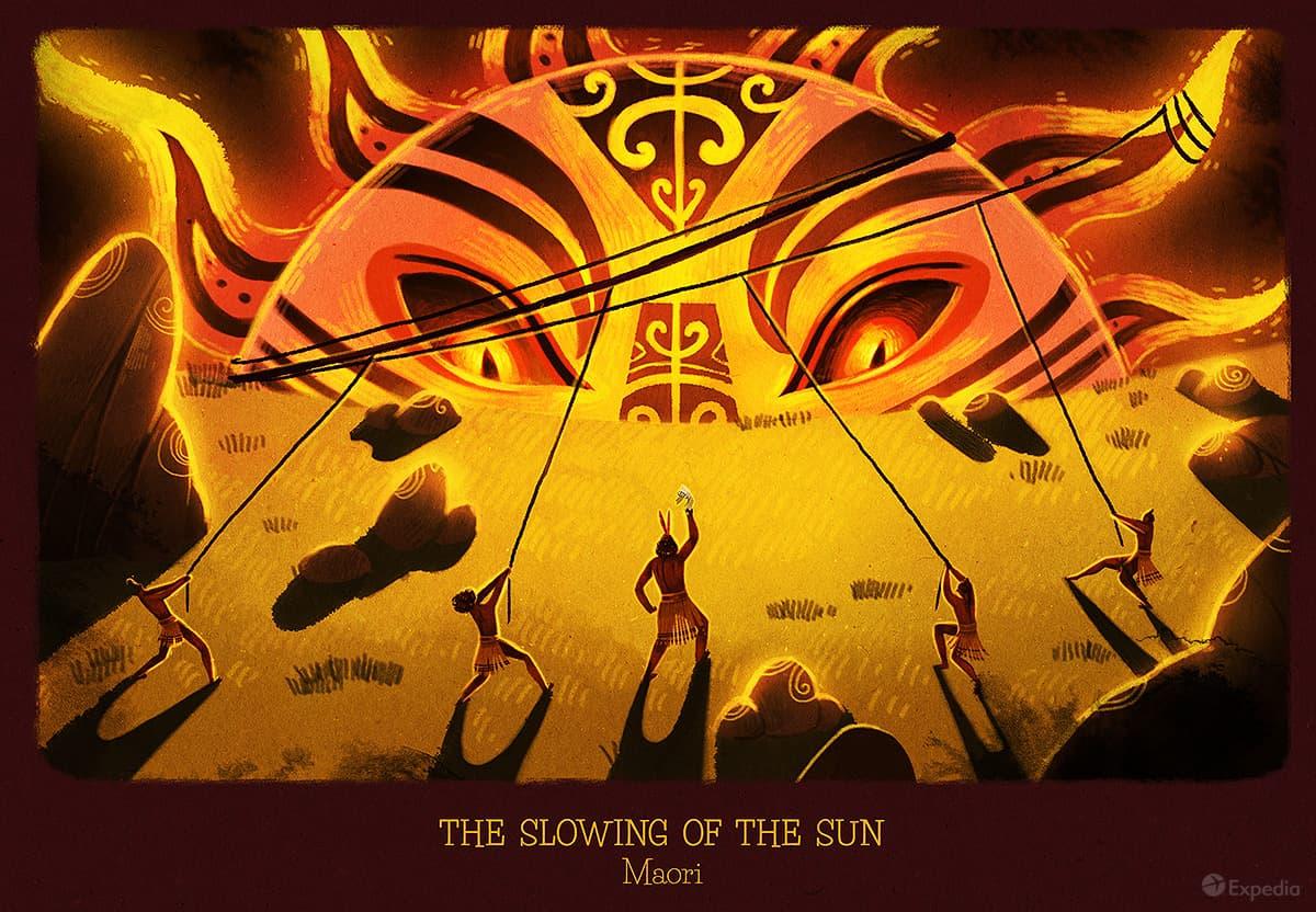 How Maori worshipped the sun