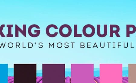 10 striking colour palettes of the world's most beautiful places