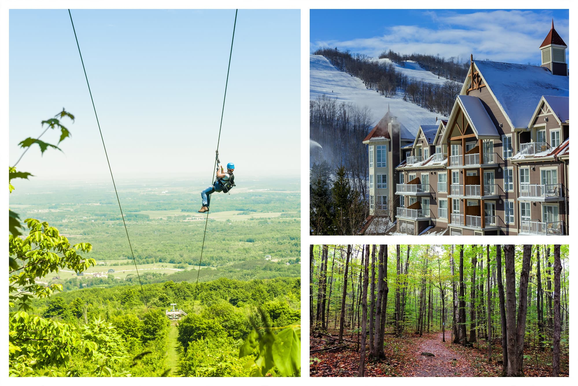 Blue Mountain, Ontario Zipline and Other Places to See
