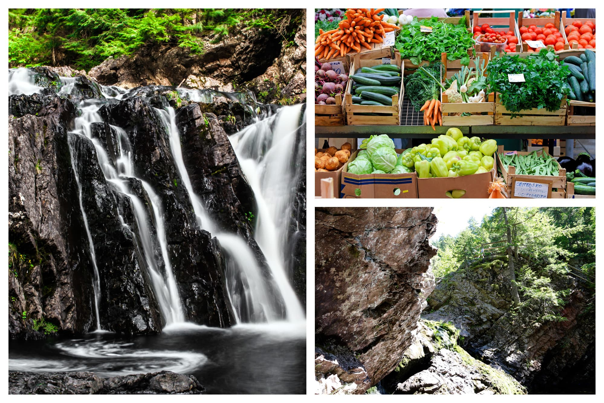 Waterfalls, farmers market, and landscape views of Truro, Nova Scotia