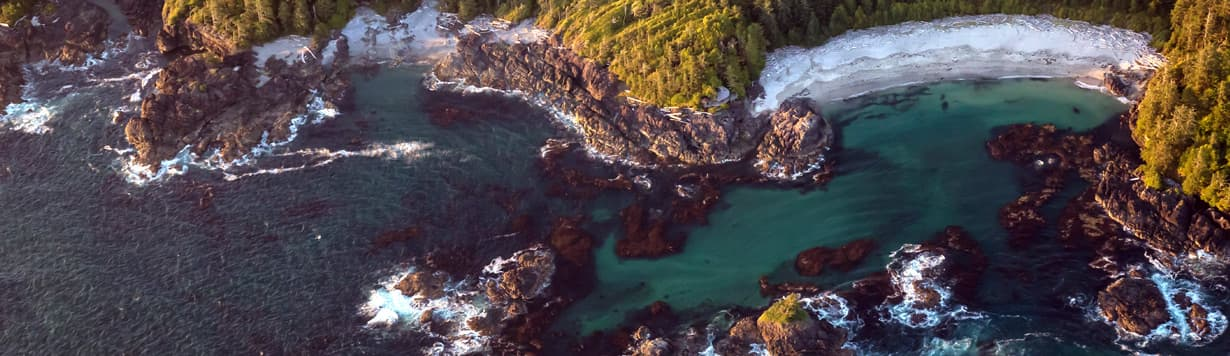 Crashing waves of Canada