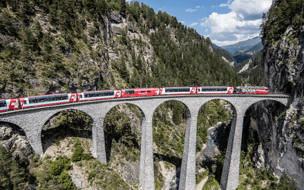 The Grand Train Tour of Switzerland