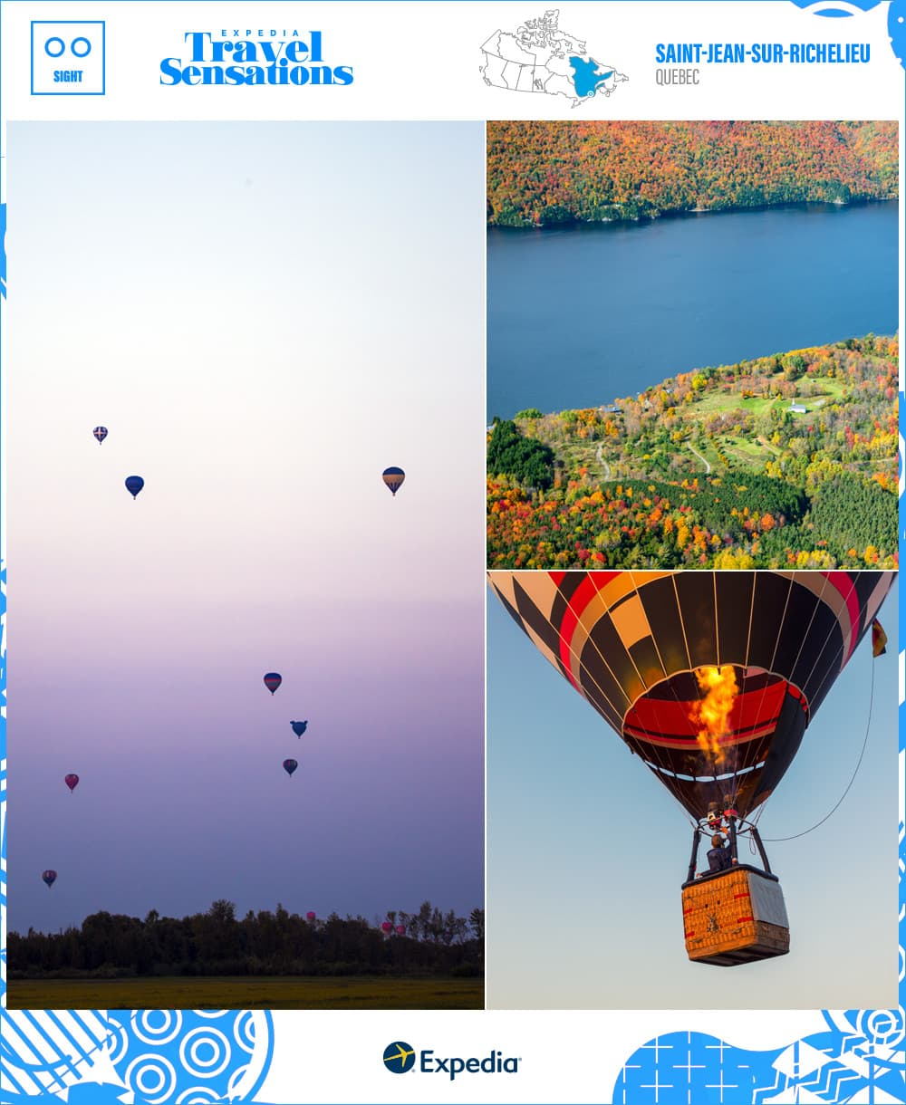 balloon festival in saint jean sur richelieu