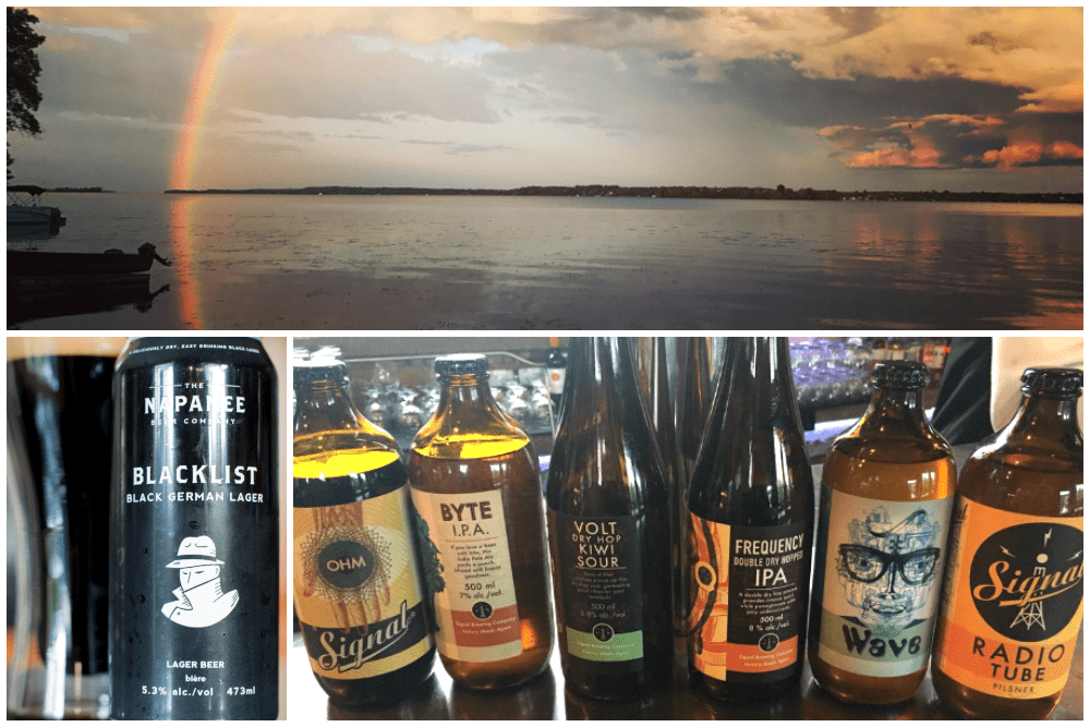 Bay of Quinte, Ontario, and beer from area breweries
