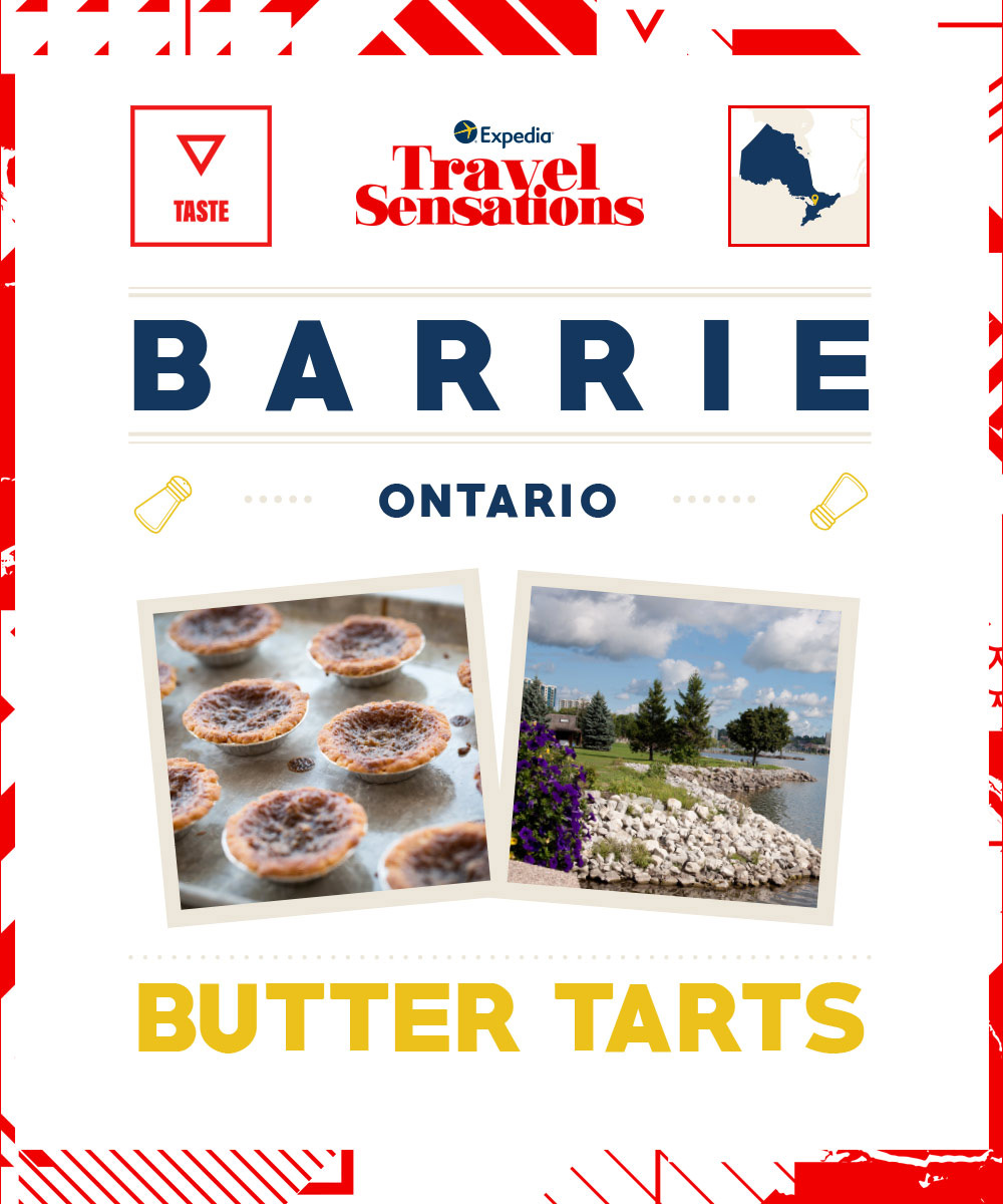 The top flavors in Barrie, Ontario