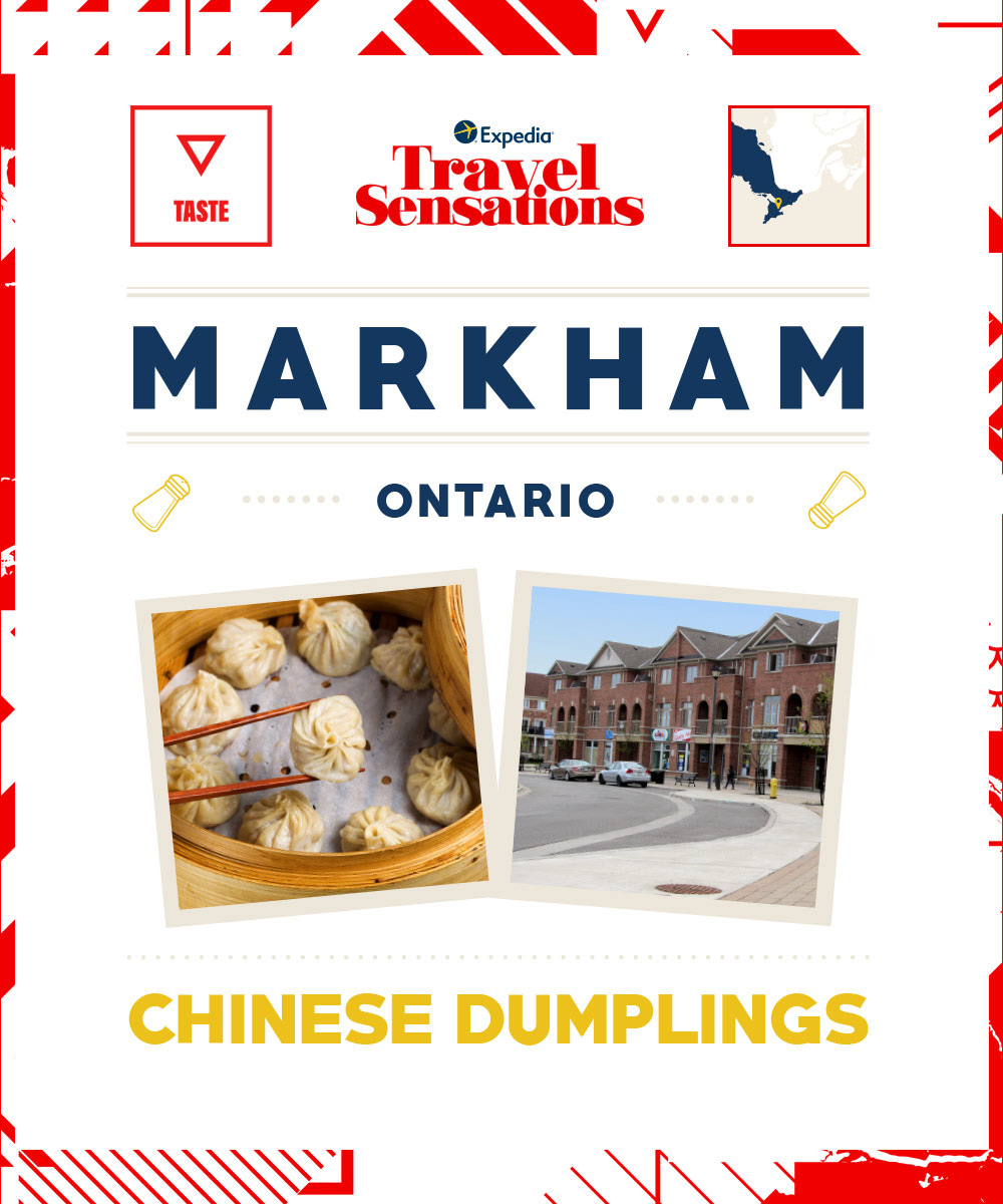 The top flavours in Markham, Ontario